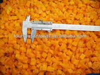 frozen pumpkin cuts/cube