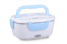 mini portable car heated lunch box with cigarette lighter