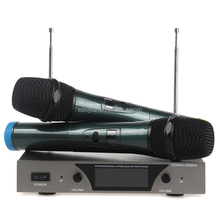 J.I.Y106 handheld cheap wireless microphone two channels