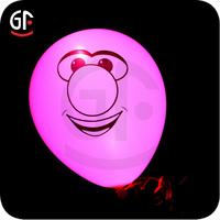 2015 New Hot Wedding Decoration 3.2g Led Lighting Glow In The Dark Balloons
