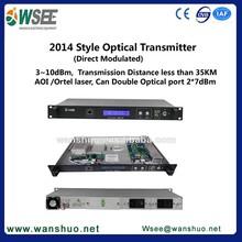 1550nm signal tv transmitter & receiver/ 3-10 dBm