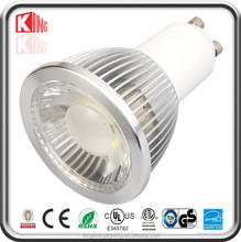 Outdoors&indoors useful led gu10 7w dimmable