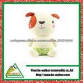 adorável cão brinquedo de pelúcia travesseiro em forma de dobradura