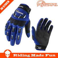 RIGWARL High Quality Motorcycle & Auto Racing Blue High Quality Racing Gloves With OEM Serice