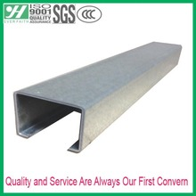 Pre-Galvanized C Channel Plain 41*21 Steel Sections