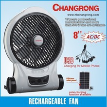 new products electric power source table fan promotion with output USB