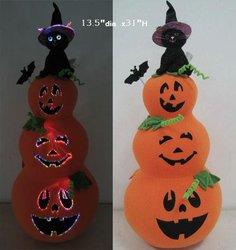 Halloween Fiber Optics Pumpkin