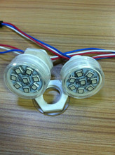 2015 high quality Individually addressable dc12v 38mm 8 smd 5050 leds pixel for ferris wheel