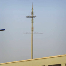 specialized in steel telecommunication tower poles / High voltage electric power transmission