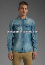 fashion style new shirts for men 2015 (JX8800)