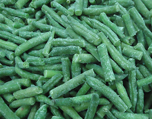 healthy vegetable and fruit exporter in China of frozen green bean ,iqf green bean , frozen green bean cut