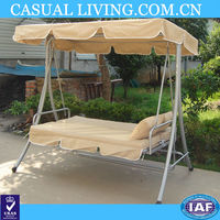 outdoor relaxation 2 Person Canopy Swing