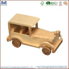 Preschool Toys Car Boat Rocket Airplane Dolls Animal Model Wooden Toys