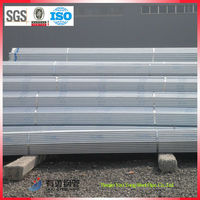 bs 1387 galvanized steel pipe/ scaffold tube diameter 48.3mm