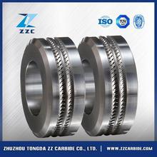 Professional tungsten carbide cold rolls for ribbed wire rod products