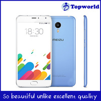 Original MEIZU MEILAN METAL body mobile phone with 5.5'' 1920*1080 Helio X10 Octa Core Flyme 5 OS 2GB 16GB/32GB 13.0MP mTouch 4G