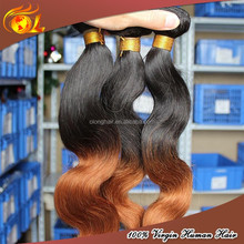 Large Stock 20'' Ombre Color Body Wave Hair Weaving Accept Paypal&Escrow Payment
