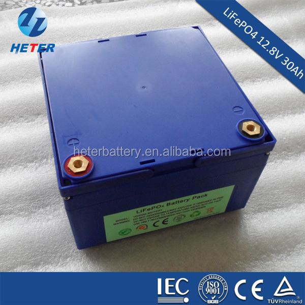 LiFePO4 High energy density 30Ah 12 volt battery for solar panel ,solar street light