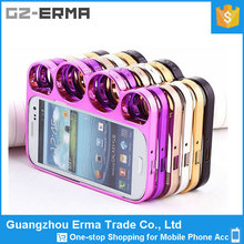Plastic Chrome Knuckle Fancy Cute Case for Samsung Galaxy S3
