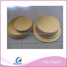 Wholesale gold cake base boards