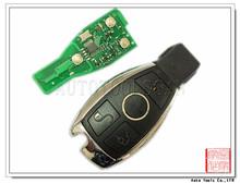 434 MHZ llave inteligente de Mercedes tarjeta de control remoto de 3 botones con chip de NEC W124 W140 W201 AK002022