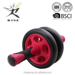 Fitness Double Roller Exercise Equipment ab wheel