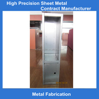 OEM high precision powder coated metal cash box fabrication export to Europe