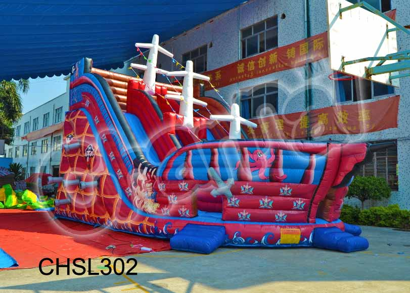 Inflatable Devil Dragon Slide