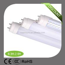 ul t8 0.6m t8 led tube cn light high lumen 100lm/w EXW price Bridgelux chip