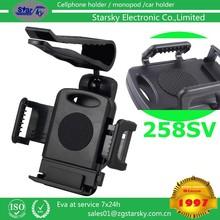 258-SV# sun visor mount holder for mobile phone Car Steering Wheel Sun Visor Pipe Bag Mobile Phone Holder for car mount holder