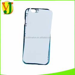 For Iphone 6 sublimation case 2D Sublimation Case Blank Sublimation phone cases with metal plating