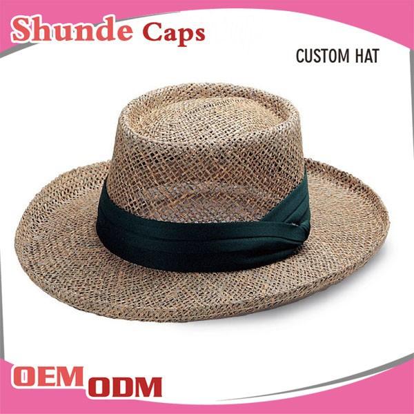 Wholesale Straw Hats Mens Promotional Straw Panama Hat - Buy Panama ...