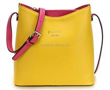hot selling lovely women ladies' genuine Italian leather tote bag handbag shoulder bag