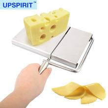 Moq pequeno por atacado em linha ferramentas de queijo com aço inoxidável fatiador de queijo e queijo fio