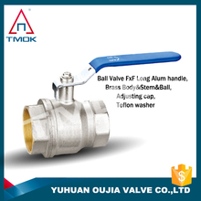 long handle brass ball valve lockable magnetic lockable brass ball valve