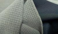 nylon spandex fabric bonded with rip-stop polar fleece softhshell fabric