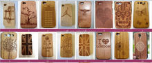 Best price real wood phone case/for iphone 6 wood cover/cell phone case