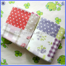 micro plush fleece blanket/children packing blanket