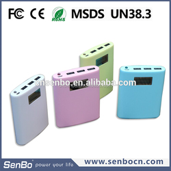 2015 alibaba cn new arrival 6000mah shenzhen mobile battery bank