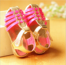 D70631T New style sandals for girls 2014 summer