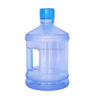 standard 1 gallon plastic water bottle with handle