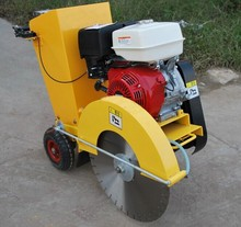 honda engine concrete cutting machine, gasoline road cutter