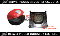 Injection plastic motorbike trunk mould