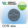 3v cr 2025 batteries lithium button cell primary batteries for toy