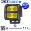 """JGL MOTORCYCLE FOG LIGHTS LED 4"""" 2800Lm LED Working Lights Square 40W Led Work Lamp 10V-80V 4X4 Truck"""