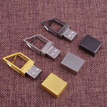 Best selling golden usb flash drive with customed logo