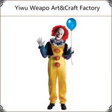 2015 de la alta calidad carnaval por mayor del traje del partido realice traje de payaso para adultos