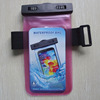 Customzied LOGO Cell phone Armband Waterproof Bag/Case For iPHone 6 Galaxy S6