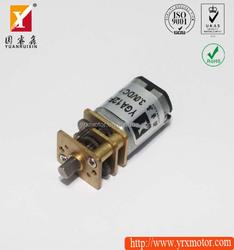 1/240 ratio high torque steel gear tiny volume dc mini gear motor for smart robot