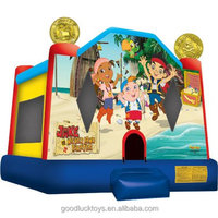 inflatable Jake and the Never Land Jump Bounce House /inflatable bouncer